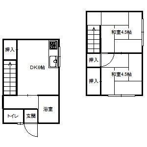 山下アパート南2号室③